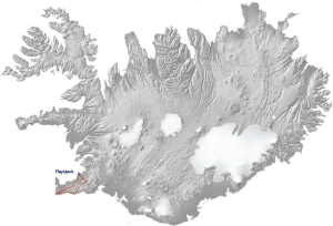 Powerful Reykjanes Tour Map
